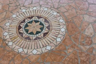 Natursteonplatten-Außenbereich