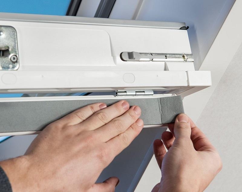 Die fachkundige Pflege, Inspektion und Reparatur von Dachfenstern