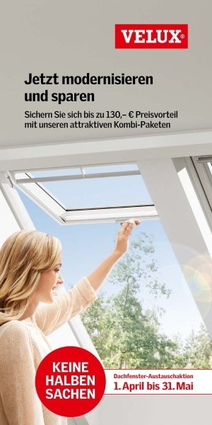 Dachfenster-Austauschaktion von VELUX sorgt für frischen Wind auf dem Modernisierungsmarkt