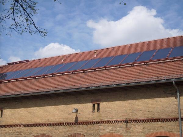 Photovoltaikanlage auf dem Haus