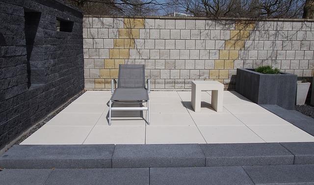 Granitfließen sorgen für Komfort und eine elegante Optik