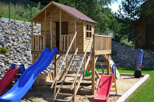 Spielplatz Sicherheit für Kinder
