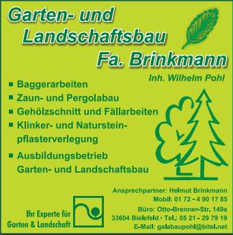 Pohl Gartengestaltung gartenbauer in hövelhof auf gartenbau org