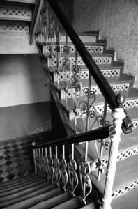 Steinteppich-Treppe