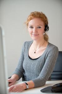 Kundenbetreuung am Telefon