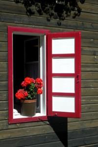 alte Holzfenster