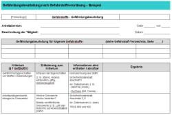 gefaehrdungsbeurteilung gefahrstoffe die gefhrdungsbeurteilung - Gefahrdungsbeurteilung Gefahrstoffe Muster