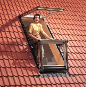 Dachausstiegfenster