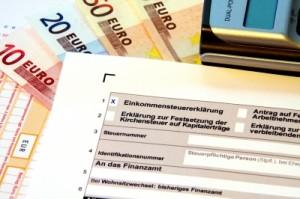 Bei der Einkommenssteuererklärung gibt es 2013 Neuerungen.