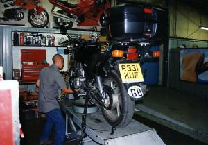 Ölwechsel Motorrad