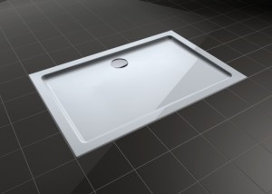 eine bodengleiche duschwanne der erste schritt in ein barrierefreies bad. Black Bedroom Furniture Sets. Home Design Ideas