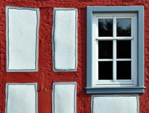 dänische Holzfenster