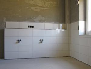 Um ein optimales Ergebnis zu erreichen, sollten Sie beim Aussuchen von Putz für Ihr Badezimmer auf den fachmännischen Rat eines Malermeisters zurückgreifen. © Rainer Sturm / pixelio.de