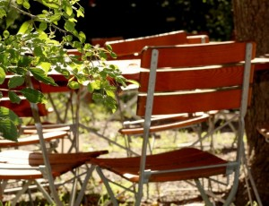 Gartenmöbel selber bauen