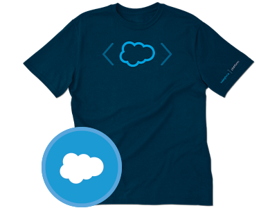 Build amazing apps faster salesforce for Salesforce free t shirt