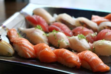 Sushi Class: Sashimi and Nigiri