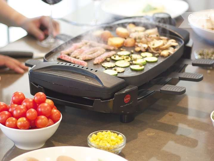 swiss raclette grill meal san francisco cozymeal. Black Bedroom Furniture Sets. Home Design Ideas