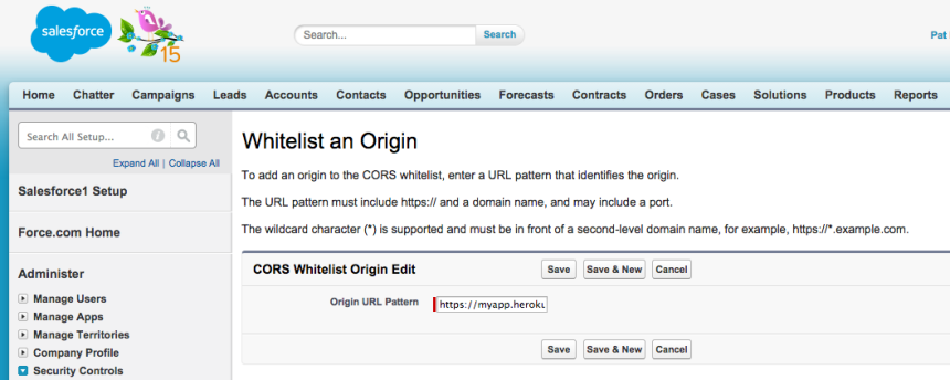Spring 15 Preview Cors For The Force Rest Api Developer