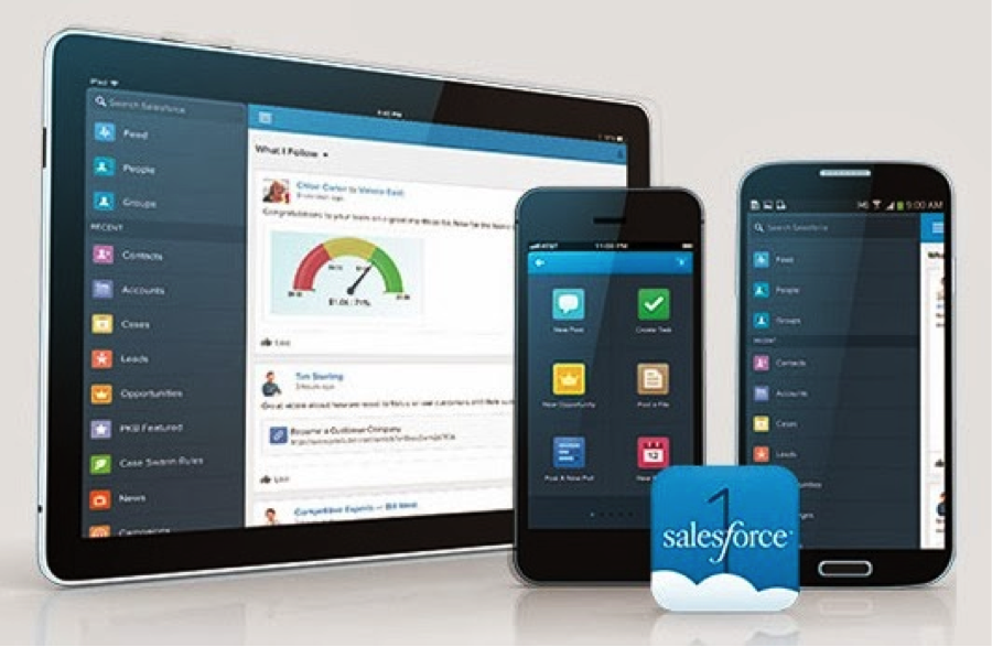 Components of Salesforce1 Platform