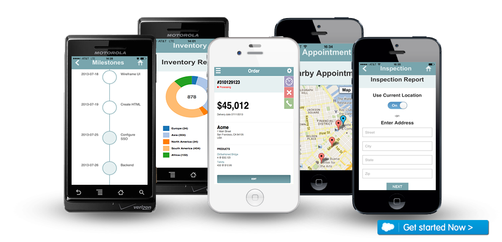 New Mobile Services For The MicroMoment Developer Force Blog - Mobile app design templates
