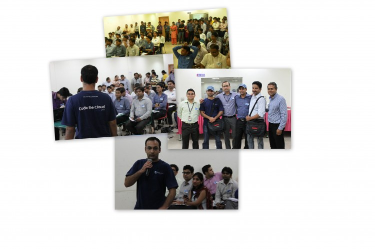 Salesforce.com Platform User Group - New Delhi Collage