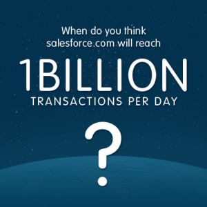 1 Billion Transactions is Coming