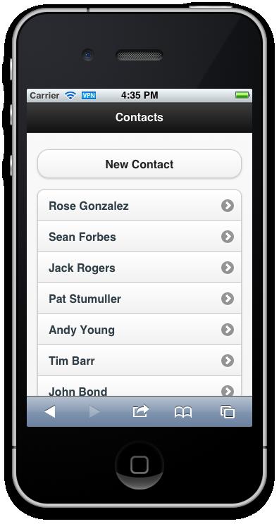 build mobile web apps with backbone js and the salesforce platform