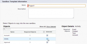 Sandboxes Add Templates and New Look | Developer Force Blog