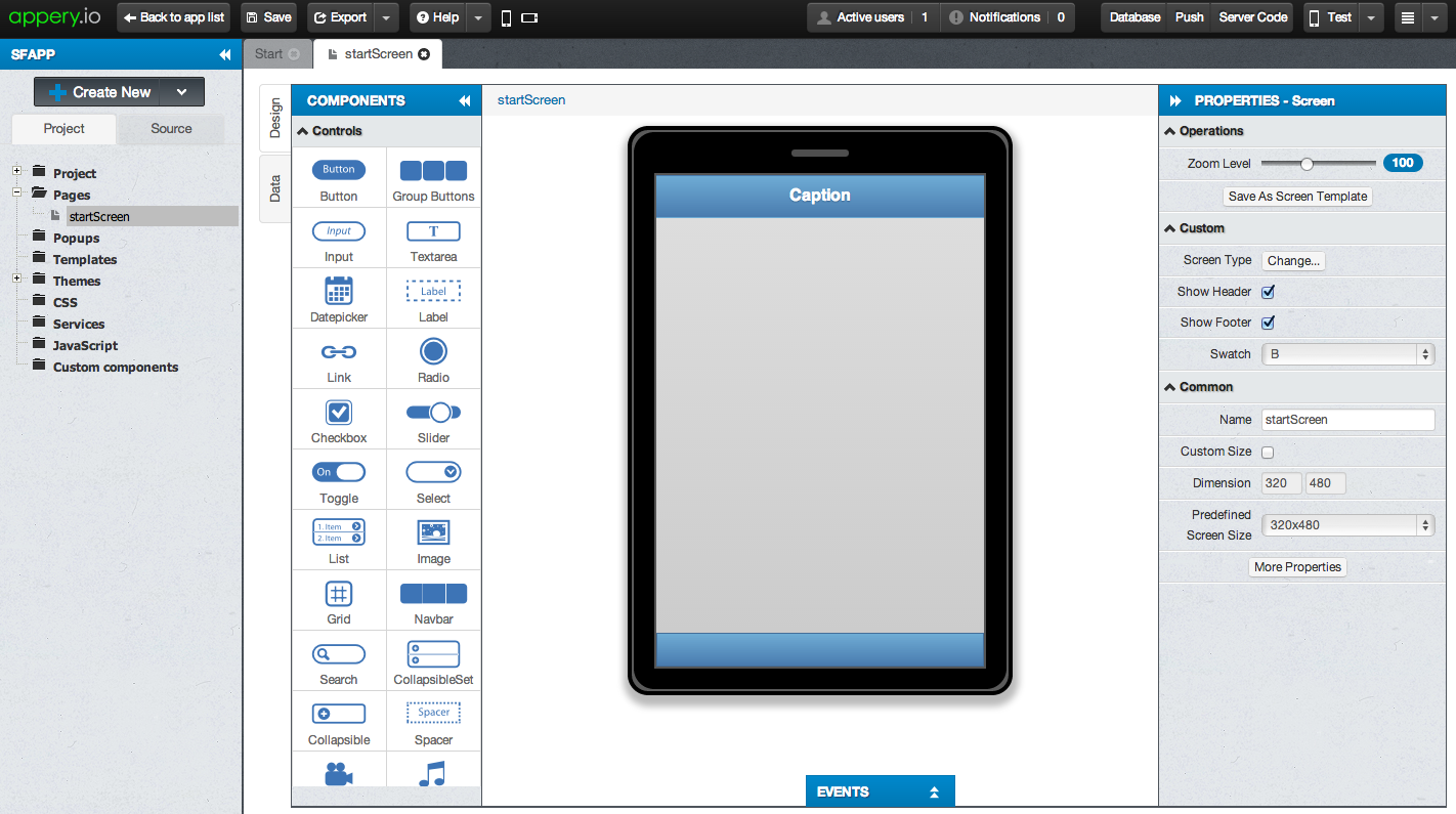 how to build mobile apps in salesforce