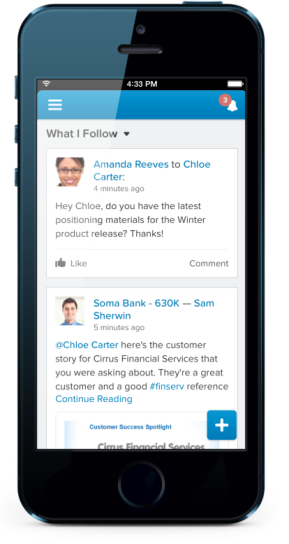 Salesforce1 Mobile App Container