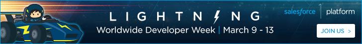 Lightning Developer Week - Register now