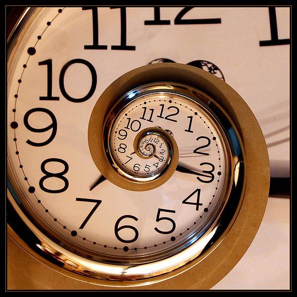 Spiraling Timepiece