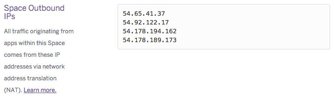 external ips