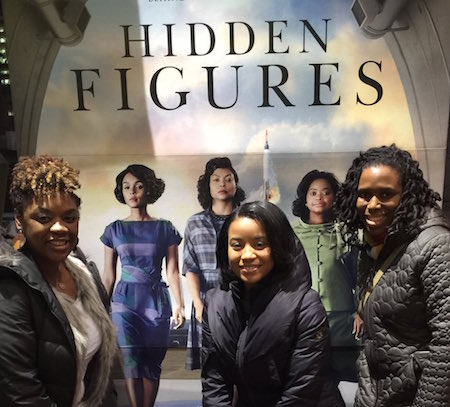 Victoria Pannell at Hidden Figures STEM event in Harlem