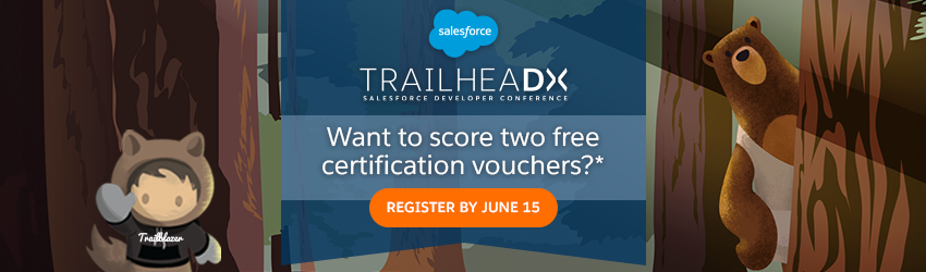 Level up Your Cred at TrailheaDX With Free Certification Vouchers ...