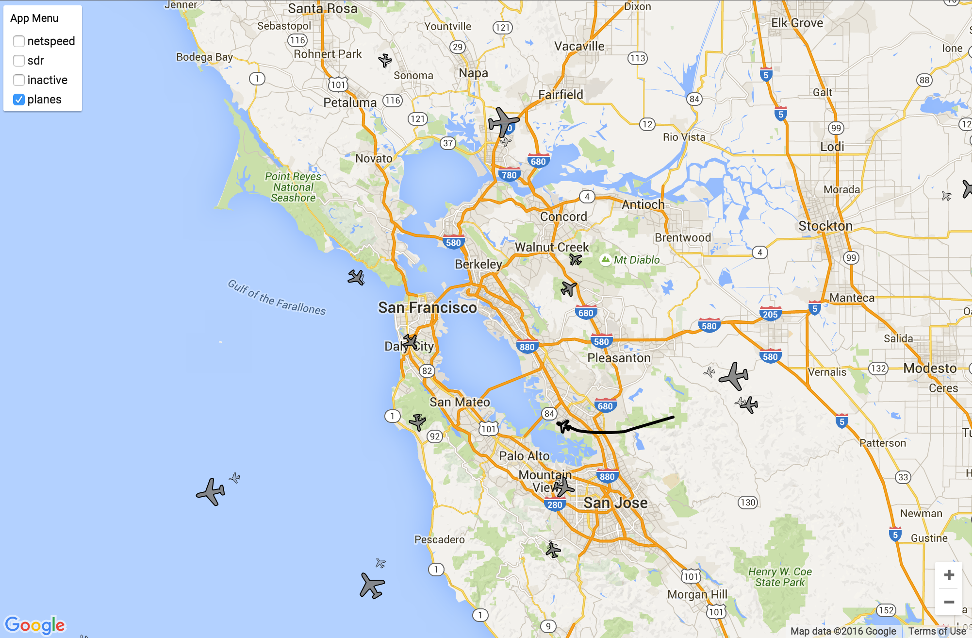 PoC2 Aircraft Tracker