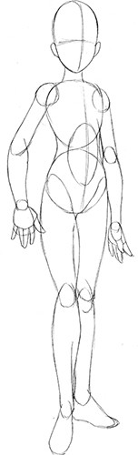 How to Draw Manga: Basic Female Body Shapes | Idiot's Guides