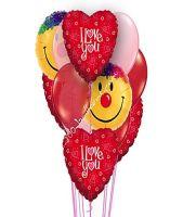 Shimmering Hearts Balloons
