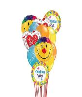 Thinking Of You With Love & Smiles Balloons