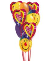 Love And Smiles Balloons