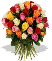 18 Mixed Roses Bouquet