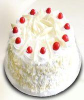 1/2 Kg White Forest Cake