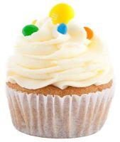 Vanillas m&m Cupcakes (1 Dozen)