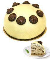 Dessert Walnut Cream Cake