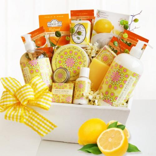 Citrus Classic Spa Gift Basket