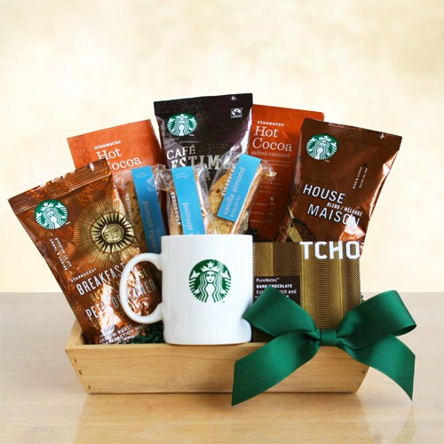 Fabulous Crate of Starbucks