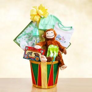 Baby Monkey Drum Surprises