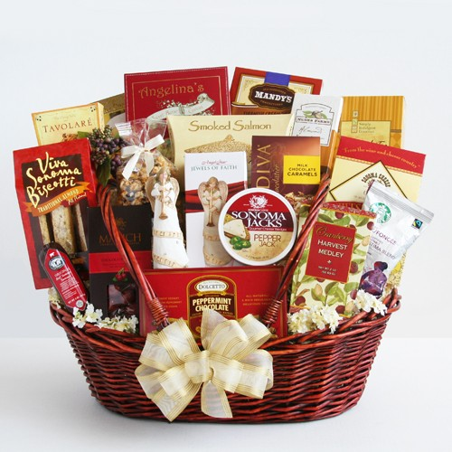 Peace, Prayer & Blessings Sympathy basket
