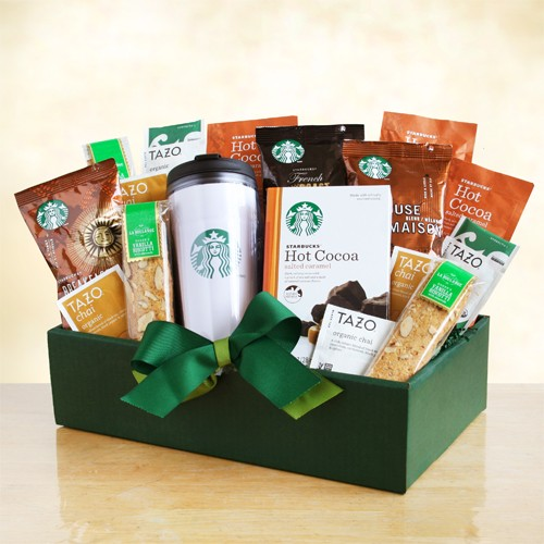 The Starbucks Classic Gift Basket