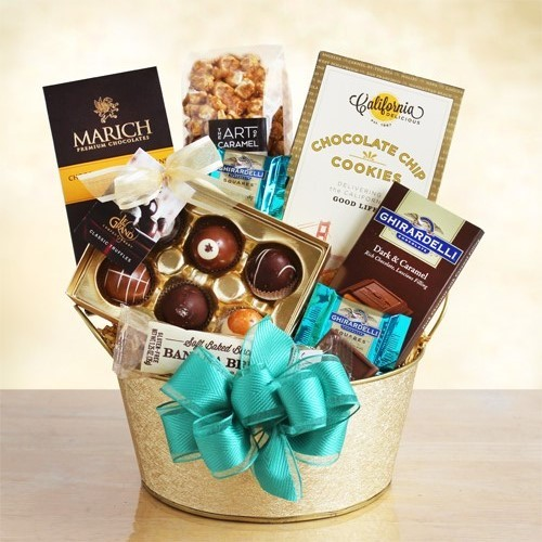 Chocolate Gold Dreams Gift